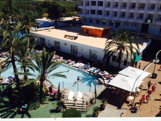 Club MAC Alcudia: Balcony view 2