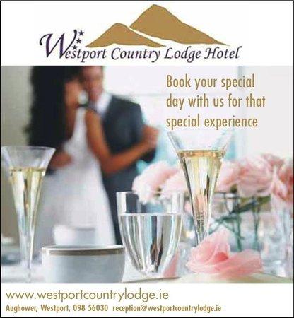 Westport Country Lodge Hotel: Ideal Wedding Venue