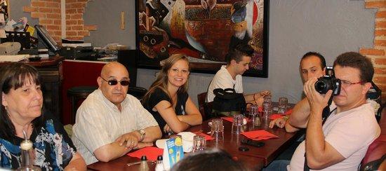 Restaurant le Festival de la Moule: une partie de notre tablée