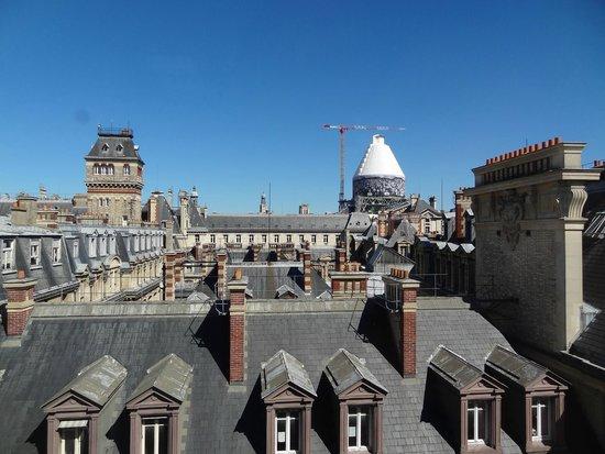 Hotel Cluny Sorbonne : vistas desde la habitación