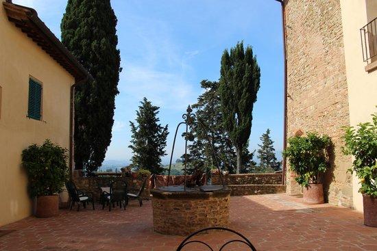 Il Paluffo - Main House B&B: Terrasse mit Ausblick