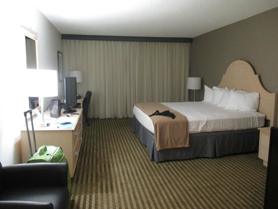 BEST WESTERN Yacht Harbor Hotel : Chambre