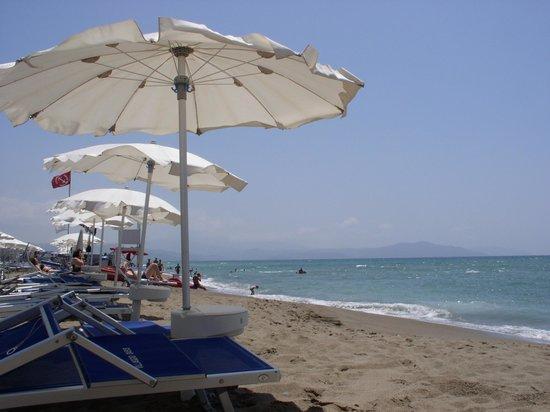 Hotel Meridiana - Paestum: Spiaggia