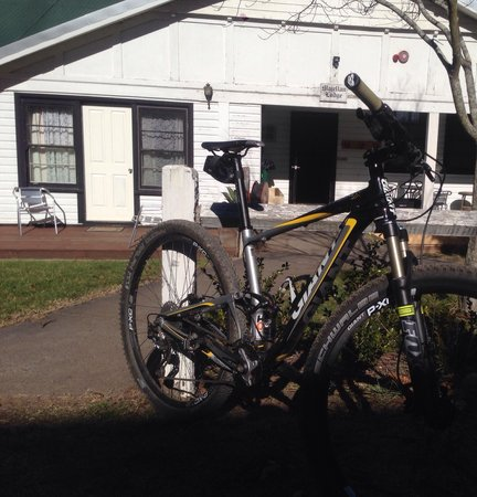 Mowbray Park Farmstay Holidays: Great mountain bike trails for riders.