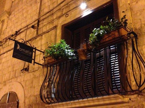 Domatia Bed and Breakfast : Il balconcino