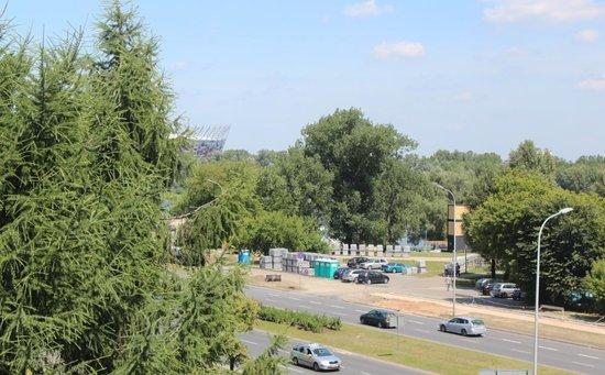 Ibis Budget Warszawa Centrum: widok z okna