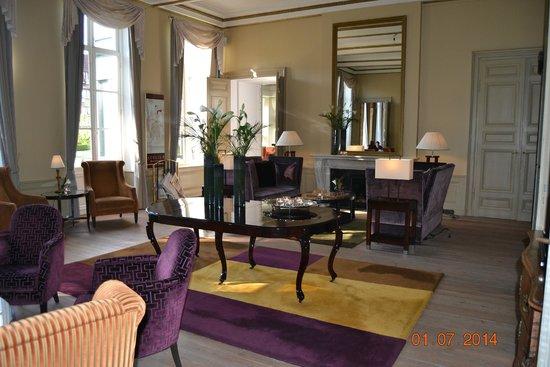 Hotel Dukes' Palace Bruges: sala de estar