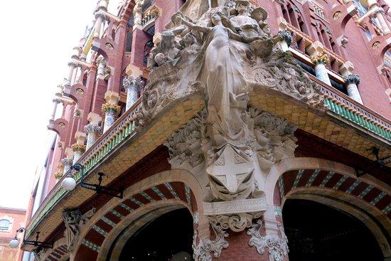 Palais de la Musique Catalane (Palau de la Musica Catalana) : 素晴らしい建造物です