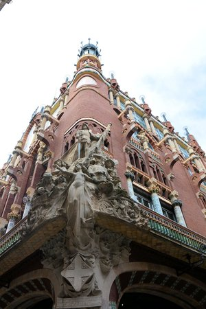 Palais de la Musique Catalane (Palau de la Musica Catalana) : 外観です