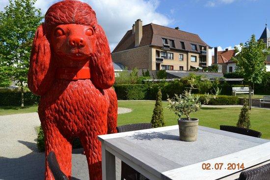 Hotel Dukes' Palace Bruges: jardin