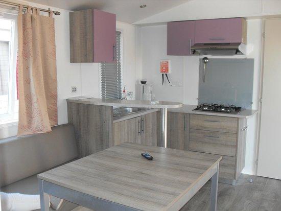 El Delfin Verde: Aufenthaltsraum mit Küche / ausreichend für 6 Personen