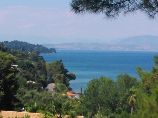 Aeolos Beach Resort: vue depuis la terrasse de la chambre 3101