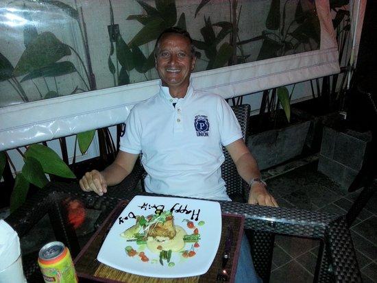Thong Dee The Kathu Brasserie: Happy birthday