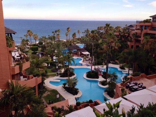 Kempinski Hotel Bahía: Desde mi terracita