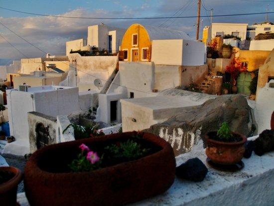 Krinaki: View of Finikia from terrace