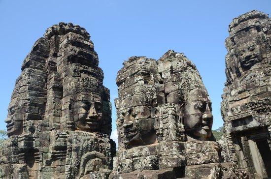 Bayon (Angkor) : Face in Bayon Temple