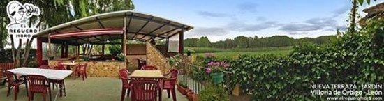 Villoria de Orbigo, Spain: Terraza