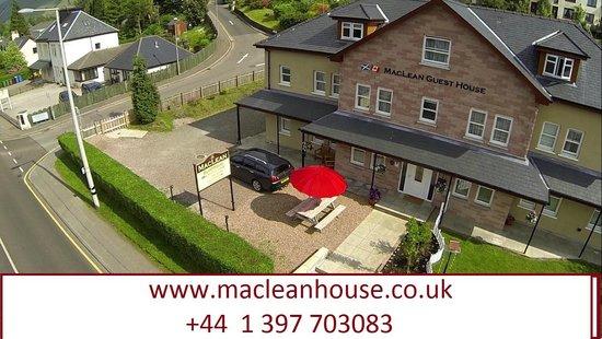 MacLean Guest House: aerial view