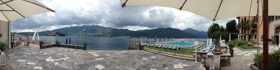 San Rocco Hotel: terrazza sul lago