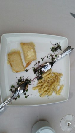 Agava: Shared the Croatian truffle pasta and cheese pasta pockets.   Both were delicious!