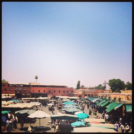 Riad Lapis-Lazuli: Place Jema Ef Na