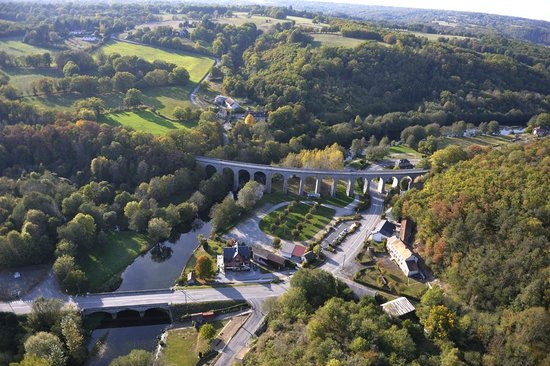 Gueret, France : Viaduc de Glénic