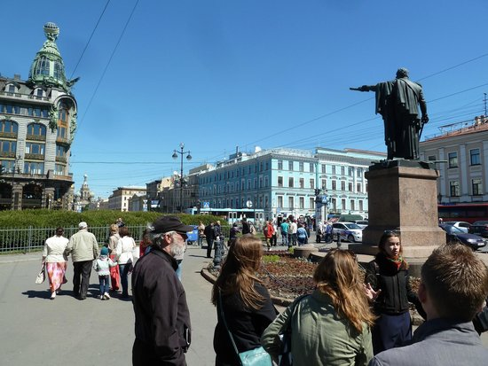 Petersburg Free Tour: The end of the Tour with Anastacia