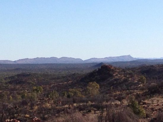 Alice Springs, Australien: Views far and wide!