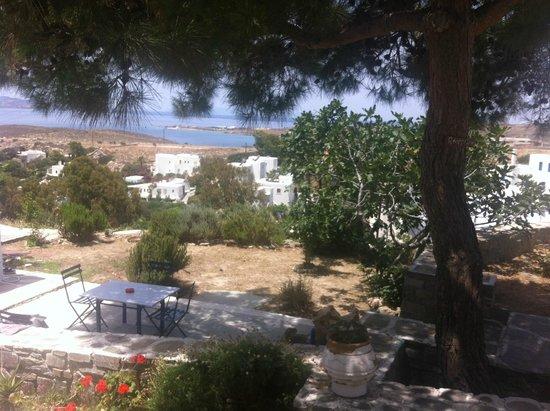 Heliolithos Blue Bay: Θέα από το διαμέρισμα μας