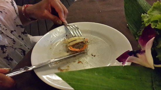 Phuket Marriott Resort & Spa, Merlin Beach : not de-veined prawns