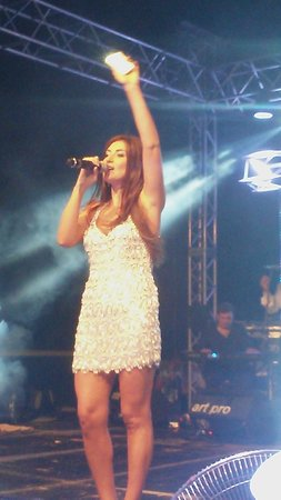 Bellis Deluxe Hotel: На концерте Жасмин