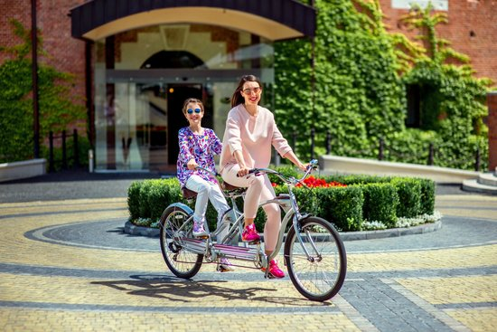 Citadel Inn Hotel & Resort : Sunny bicycle trip