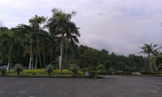 Johor Art Gallery (Galeri Seni): the scenery across the Stulang highway in front of the Gallery
