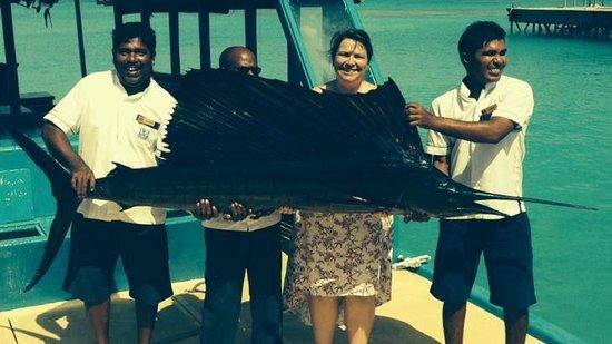 Meeru Island Resort & Spa : Now That's a Big Fish!!