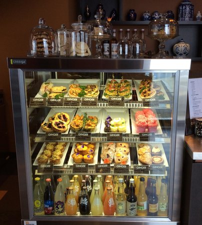 Awesome Ginger Cafe: Exciting Range Of Cabinet Food
