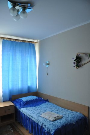 Belarus Hotel: one of the beds in a 2-bed room