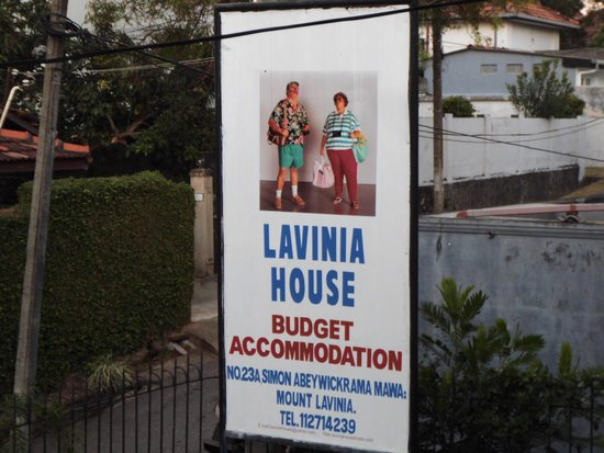 Lavinia House: This picture was not on the website. It's laughable.
