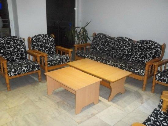 Altinbas Apart Hotel: Foya