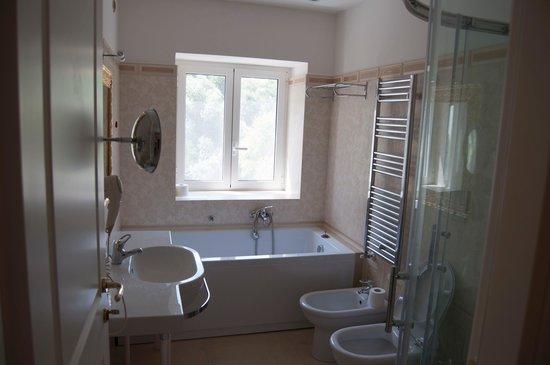 Hotel San Michele: bagno camera