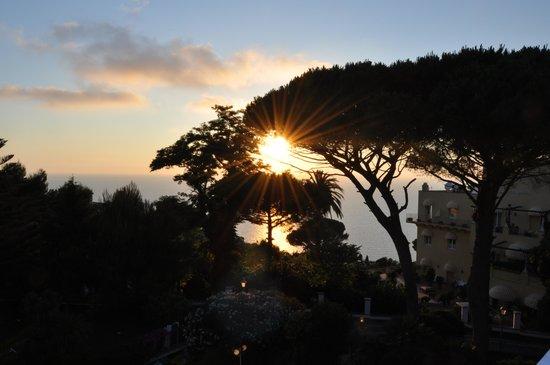 Hotel San Michele: vista lato Ischia