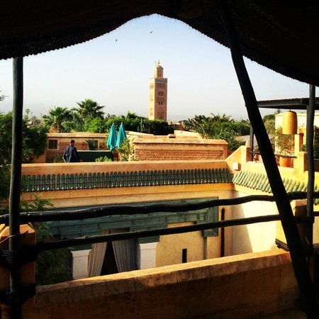 El Fenn: toit terrasse