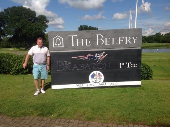 The Belfry: Top Golf experince