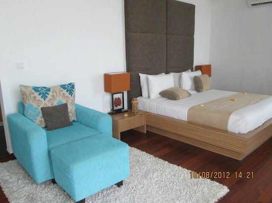 Pandawa Beach Villas & Spa : Kamar/Suite lantai 2