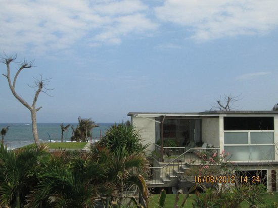 Pandawa Beach Villas & Spa: Pemandangan dari lantai 2, sea view