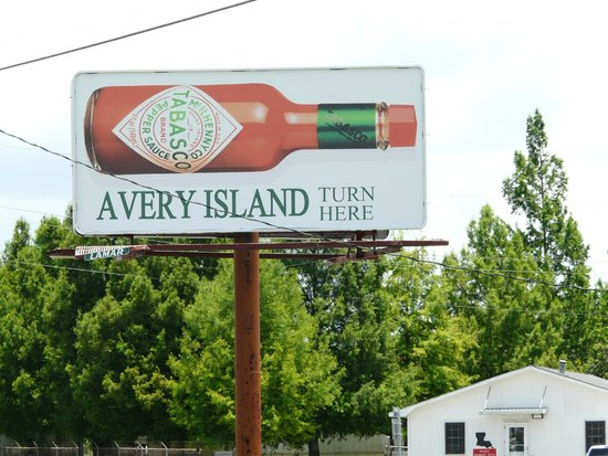 Tabasco Visitor Center and Pepper Sauce Factory: Road sign