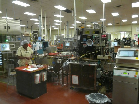 Tabasco Visitor Center and Pepper Sauce Factory: Factory