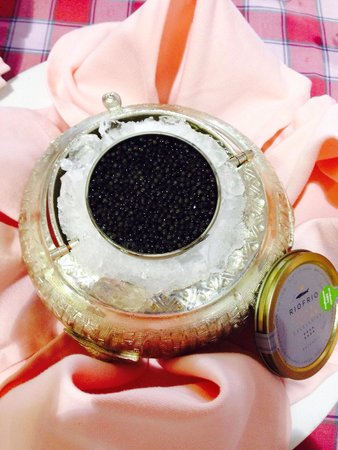 Meson Riofrio: Ecological caviar from Riofrio- absolutely worth while eating !!!👍