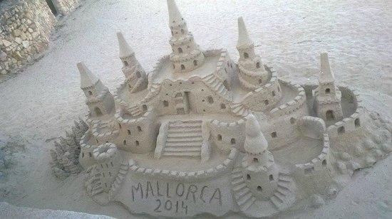 Protur Floriana Resort: sand castle