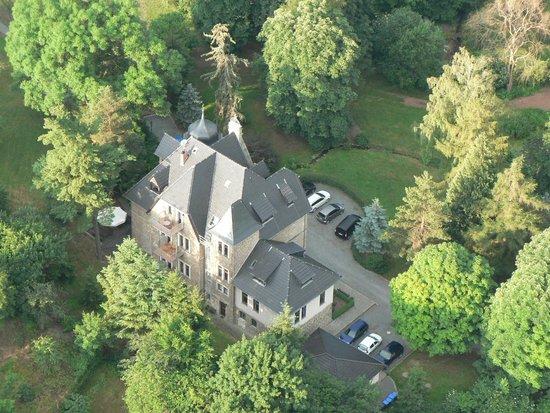 Schloss Stecklenberg: Luftbild