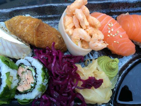 East West -Sushi, Grill, Lounge: Sushi